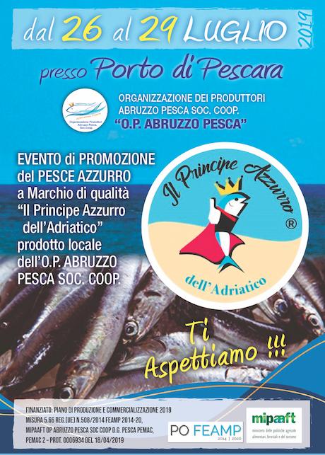 Dal 26 al 29 luglio presso il Porto di Pescara - 2019