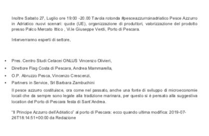 Abruzzo News Pescara 2019
