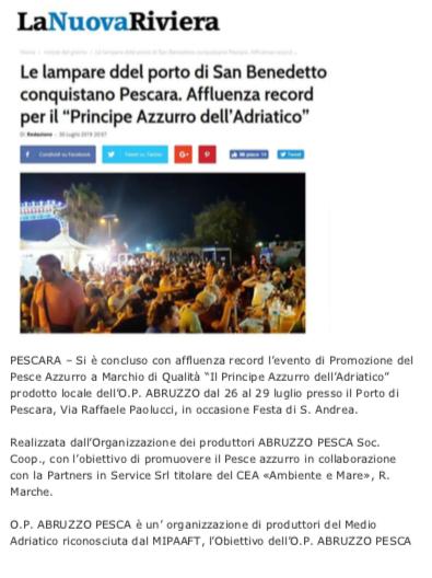 La Nuova Riviera Pescara 2019